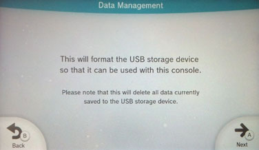 All external drives must be specially formatted.